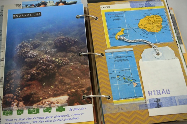 underwater photo and vintage maps