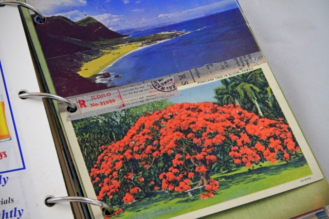 vintage postcards - with some space for journaling on the back